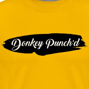 Donkey Punch'd - Men's Premium T-Shirt