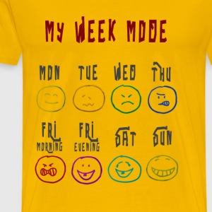 Week Mode - Men's Premium T-Shirt