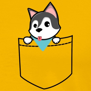 Pocket Doggy - Men's Premium T-Shirt
