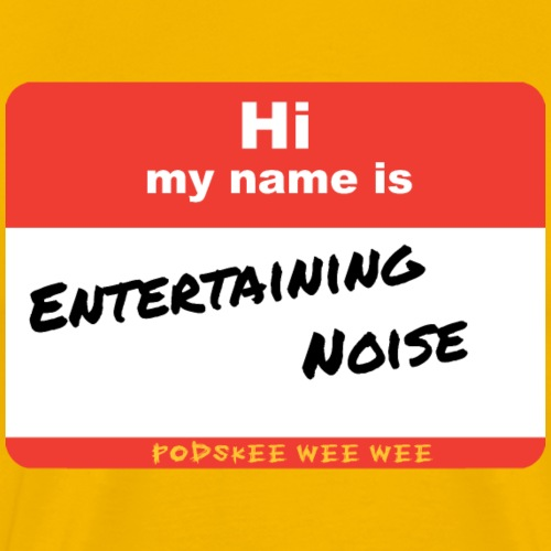 Entertaining Noise - Men's Premium T-Shirt