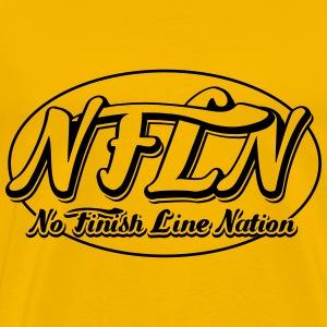 NFLN logo - Men's Premium T-Shirt
