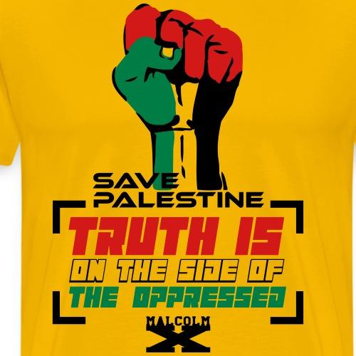 Save Palestine - Men's Premium T-Shirt