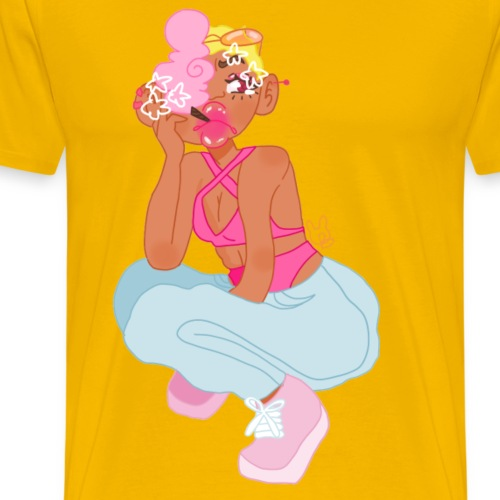 I ' M A F U C K I N G B L A C K B A R B I E - Men's Premium T-Shirt