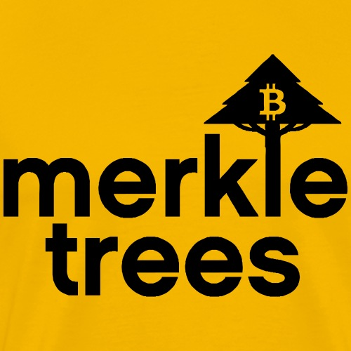 Merkle Trees Bitcoin T-Shirt - Men's Premium T-Shirt