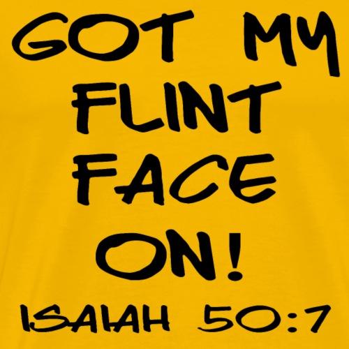 Flint Face - Men's Premium T-Shirt