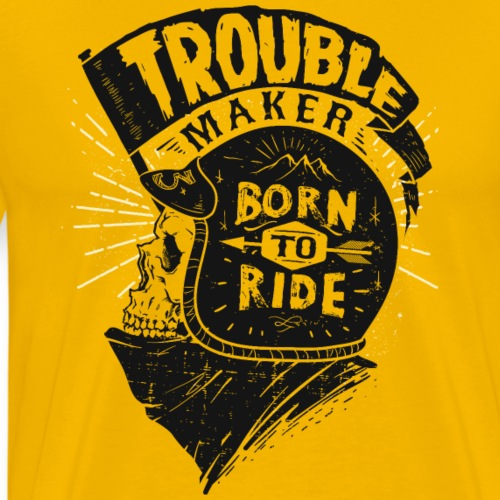 Trouble maker - Men's Premium T-Shirt