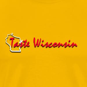 Taste Wisconsin Culinary Arts Logo - Men's Premium T-Shirt