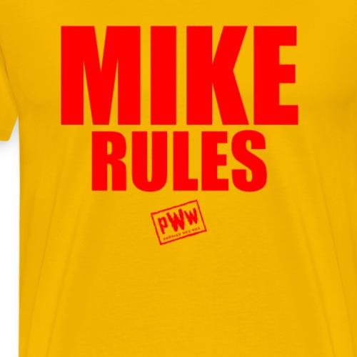 Mike Rules - Men's Premium T-Shirt