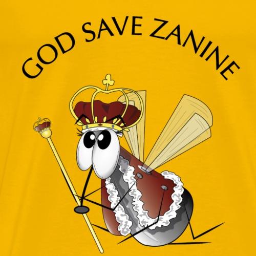 God save Zanine - Men's Premium T-Shirt
