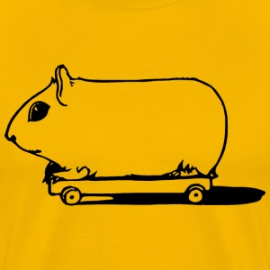 Pig on Wheels - Men's Premium T-Shirt