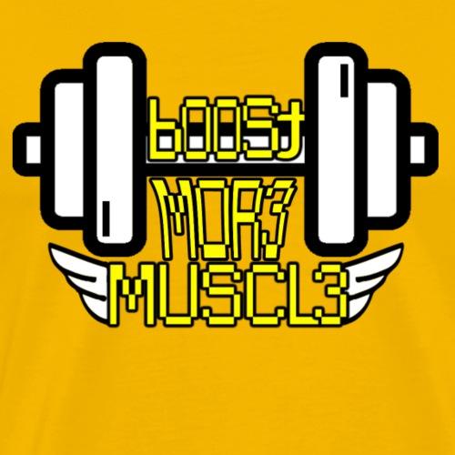 Boost More Muscle T-shirt - Men's Premium T-Shirt