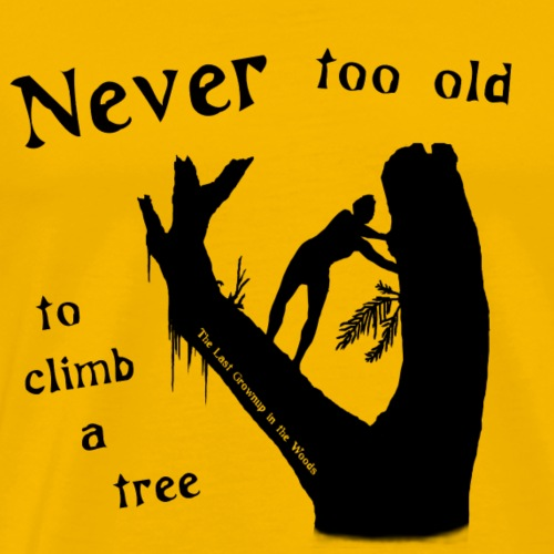 Never too Old - Men's Premium T-Shirt