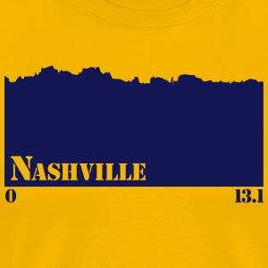 Nashville 1/2 marathon - Men's Premium T-Shirt