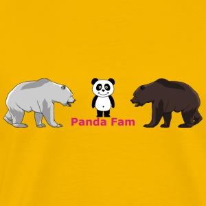 Panda Fam - Men's Premium T-Shirt