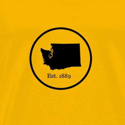 Washington State Est. 1889 - Men's Premium T-Shirt