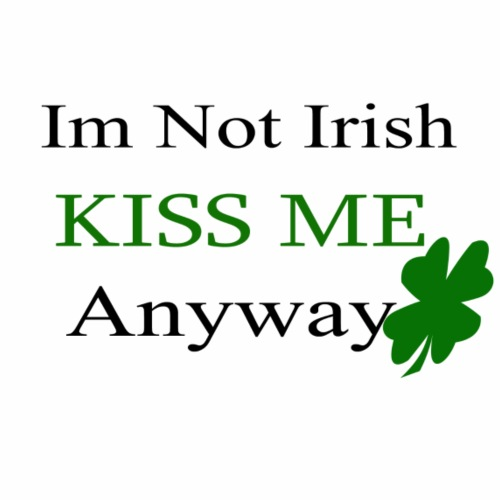 irish Kiss me - Men's Premium T-Shirt