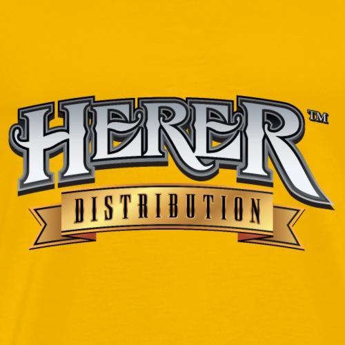 Herer Disribution Logo - Men's Premium T-Shirt