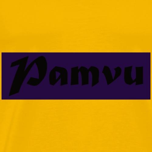 PamvuPurpleBlack - Men's Premium T-Shirt