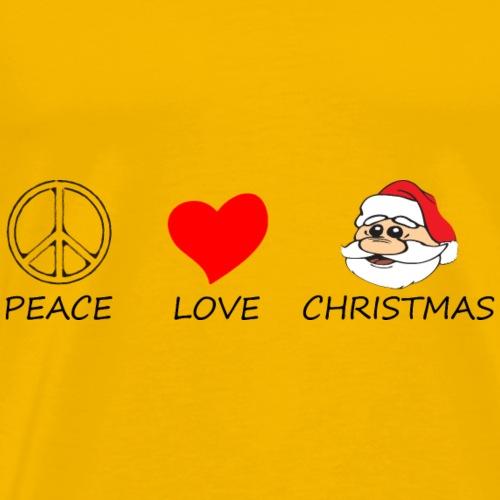 peace love10 - Men's Premium T-Shirt