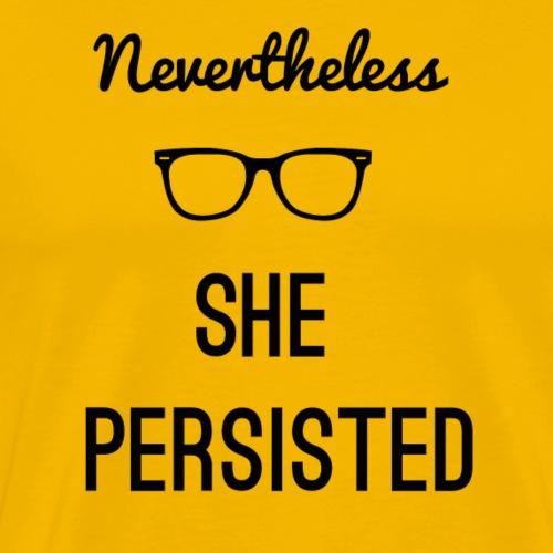 She Persisted - Men's Premium T-Shirt