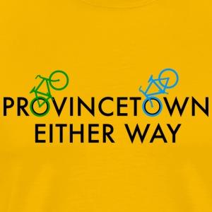 Provincetown Either Way - Men's Premium T-Shirt