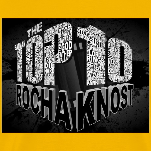 Top 10 Splash Logo - Men's Premium T-Shirt