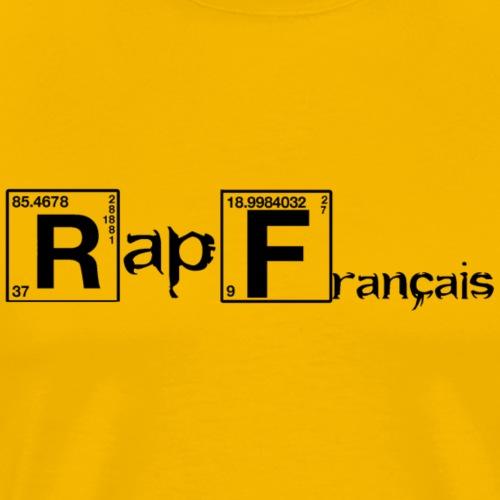 rap francais periodic table tableau periodique - Men's Premium T-Shirt