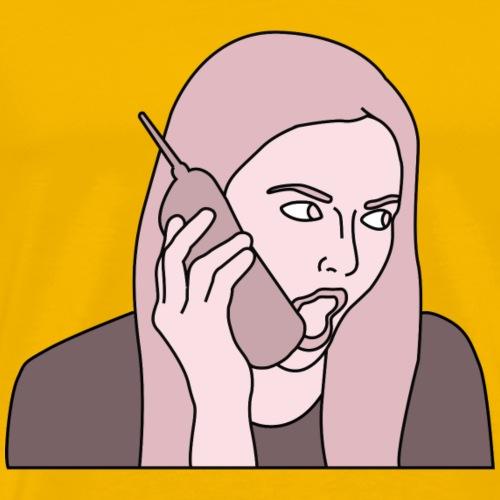 Mean Girls - Karen Smith (Pink) - Men's Premium T-Shirt