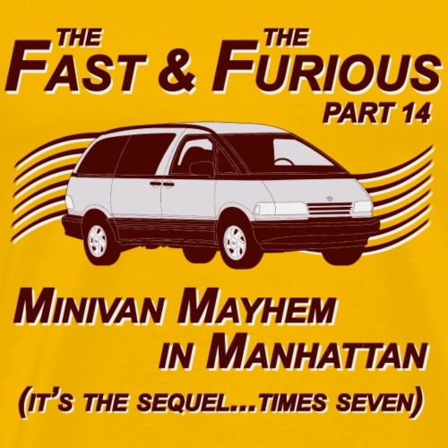 Fast And Furious Part 14 T-Shirt - Men's Premium T-Shirt