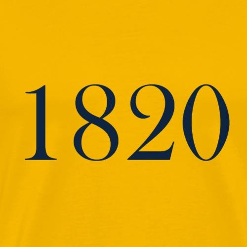 1820 - Men's Premium T-Shirt