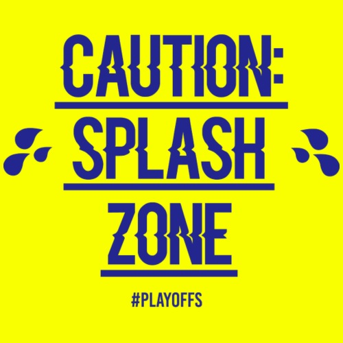 LIMITED Golden State Warriors Splash Zone - Men's Premium T-Shirt