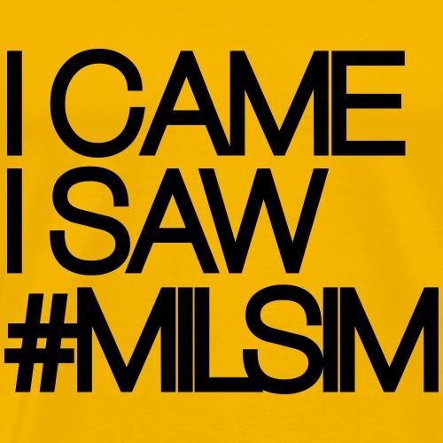 I_CAME_I_SAW_MILSIM - Men's Premium T-Shirt