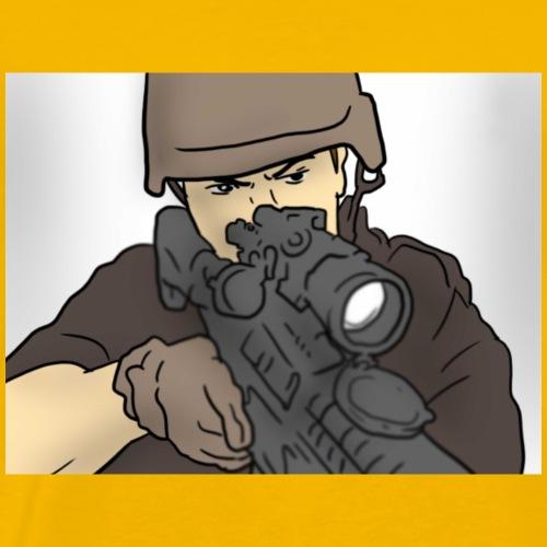 Be an swat family Aka sniper Team - Men's Premium T-Shirt