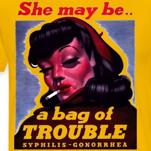 bag_of_trouble - Men's Premium T-Shirt