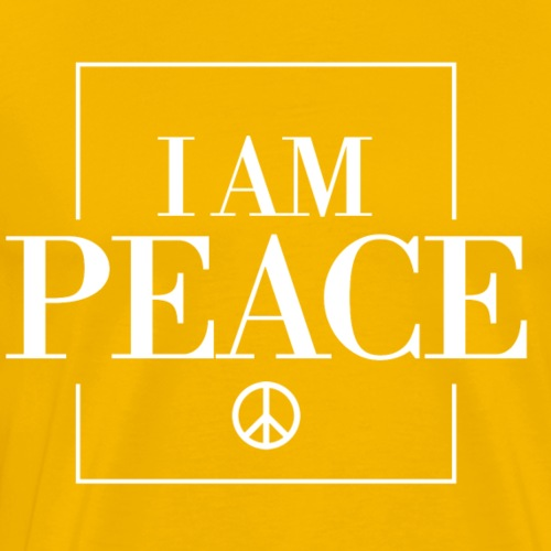 I AM Peace Affirmation T-Shirts & Sweatshirts - Men's Premium T-Shirt