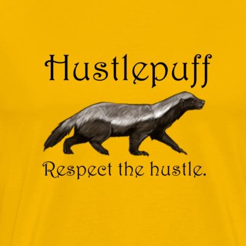 Hustlepuff - Men's Premium T-Shirt