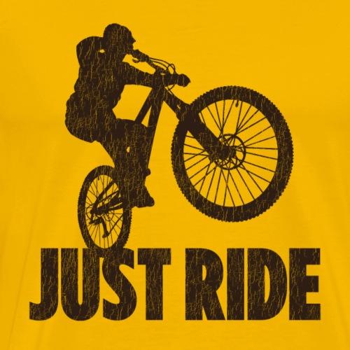 Just Ride - Men's Premium T-Shirt