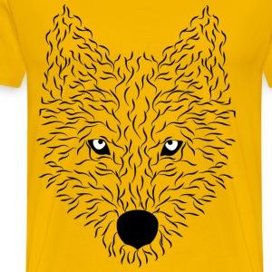 wolf - Men's Premium T-Shirt