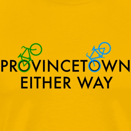 Provincetown Either Way - Men's Premium T-Shirt