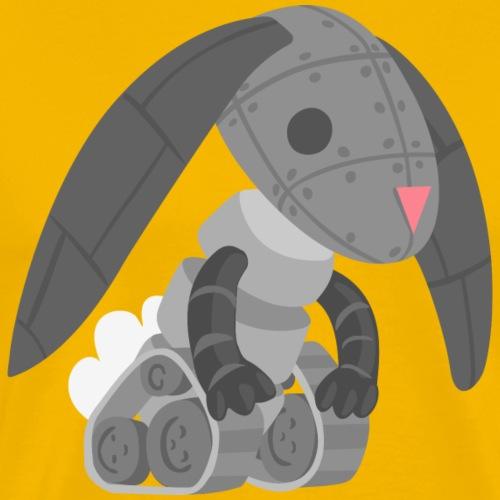 Robot Bunny - Men's Premium T-Shirt