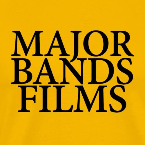 MAJOR BANDS FILMS - Men's Premium T-Shirt