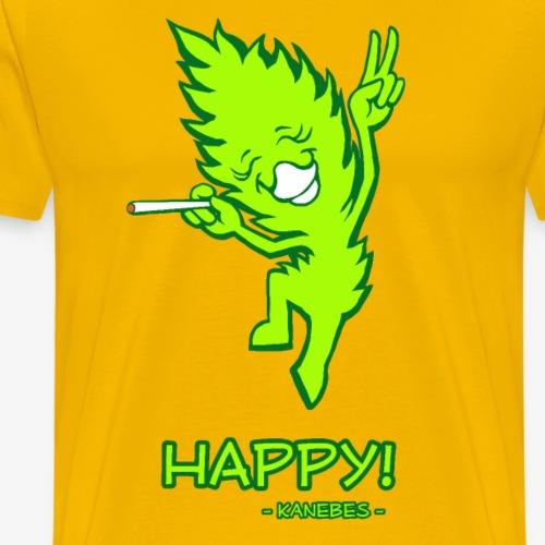 Happy! - Kanebes - - Men's Premium T-Shirt