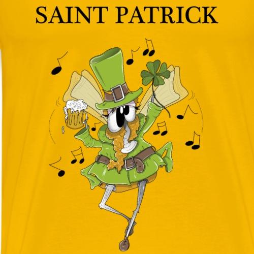 Zanine la Mouche St Patrick - Men's Premium T-Shirt