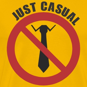 just casual - Men's Premium T-Shirt