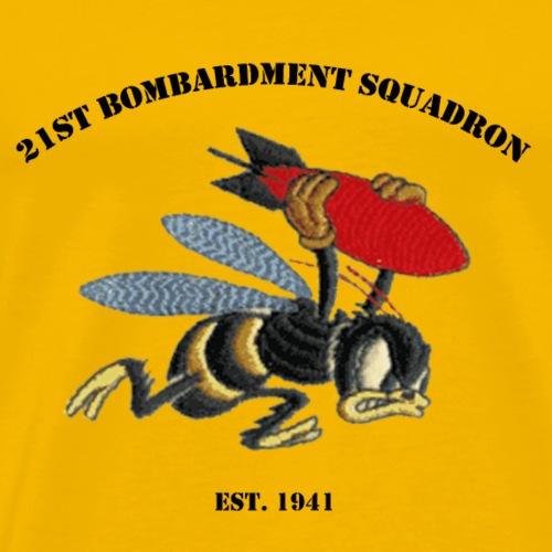 21st Bombardment Squadron Insignia - Men's Premium T-Shirt