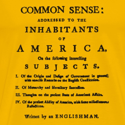 Common Sense - Men's Premium T-Shirt