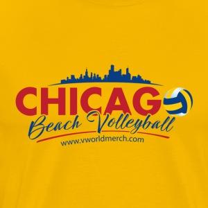 Chicago Beach Volleyball B - Men's Premium T-Shirt