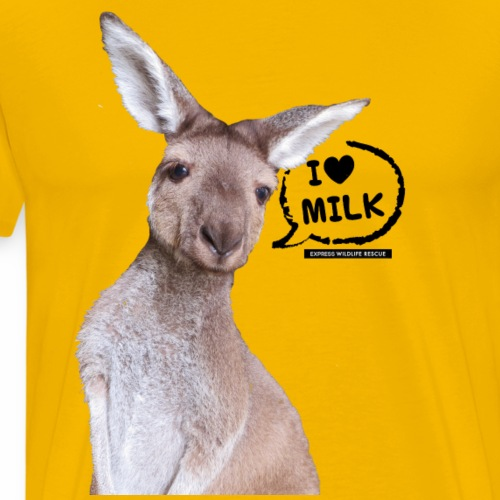 I Love Milk - Men's Premium T-Shirt