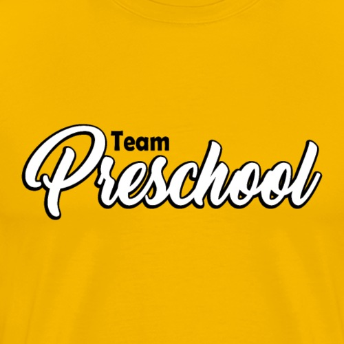 Teacher T-shirt - Team Preschool / pre-school - Men's Premium T-Shirt