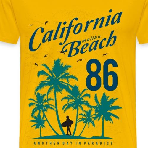 California Malibu Beach - Men's Premium T-Shirt
